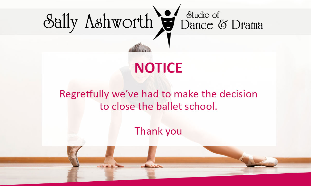 Sally Ashworth Studio of Dance and Drama - 51 Main St Burton Joyce Nottingham NG14 5ED tel 0115 9312573